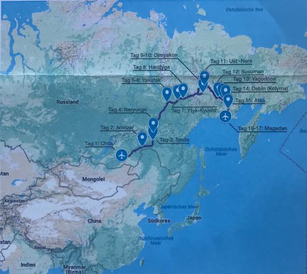 Sibirien Asien